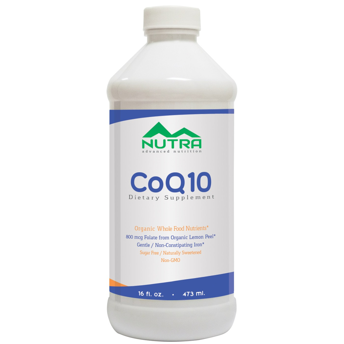 Private Label CoQ10 Liquid Supplement Manufacturer