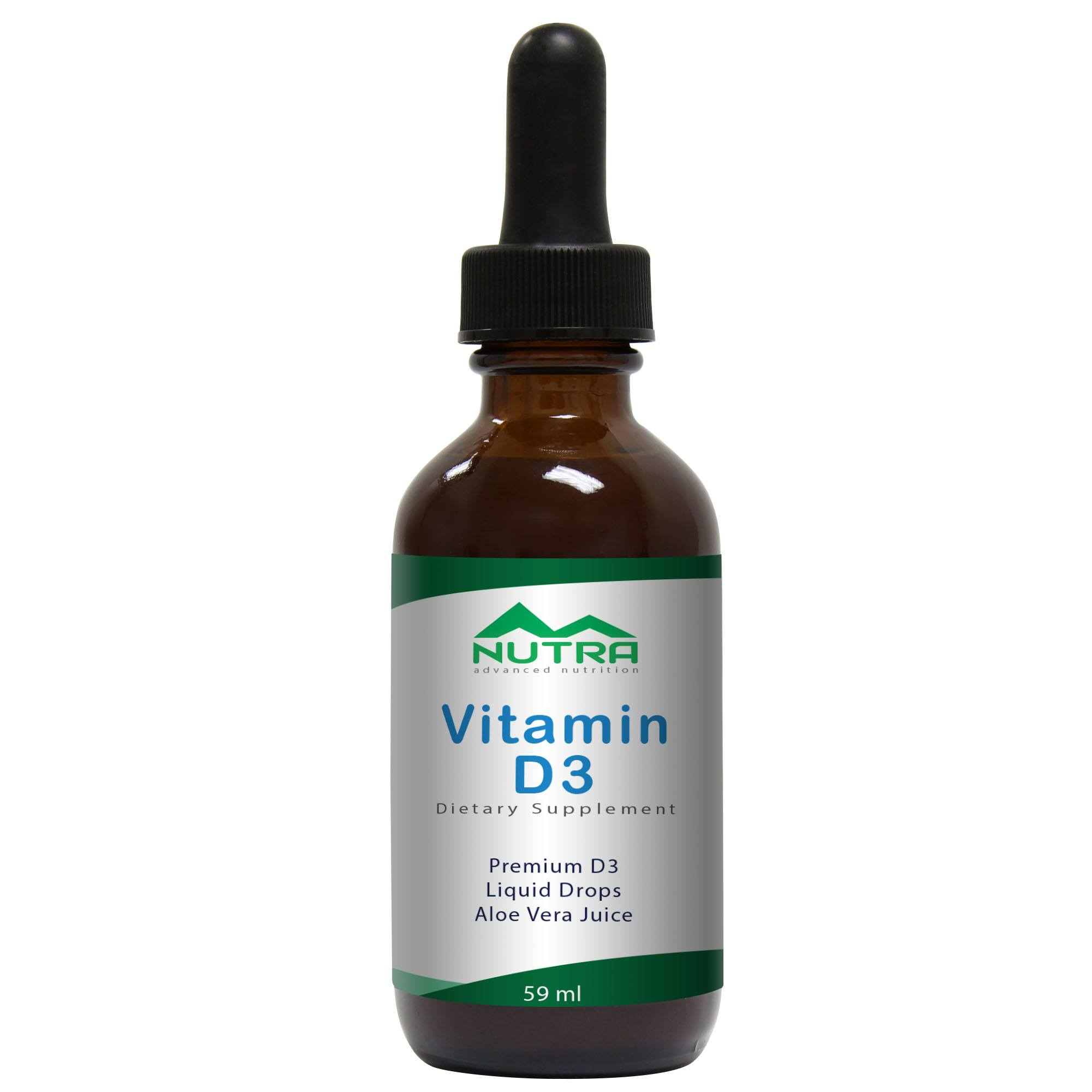 Private Label Vitamin D3 Drops Manufacturer